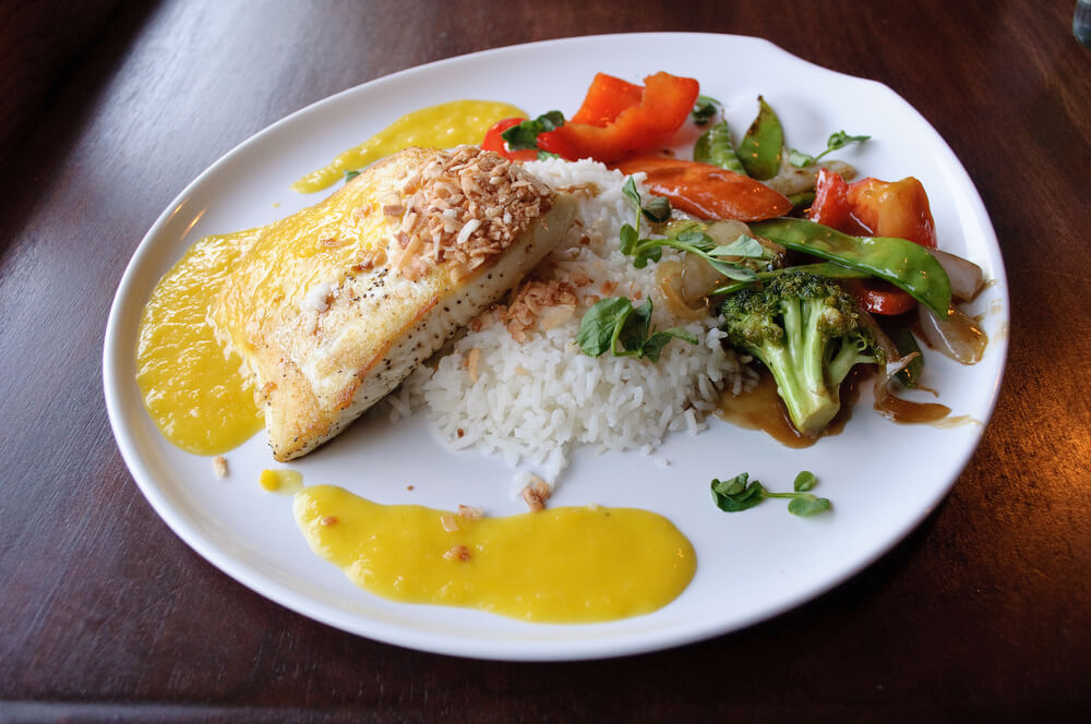Sautéed Halibut with Spicy Orange Ginger Sauce - The Sporting ChefThe ...