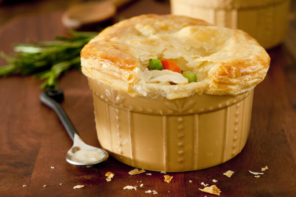 Game Bird Pot Pie
