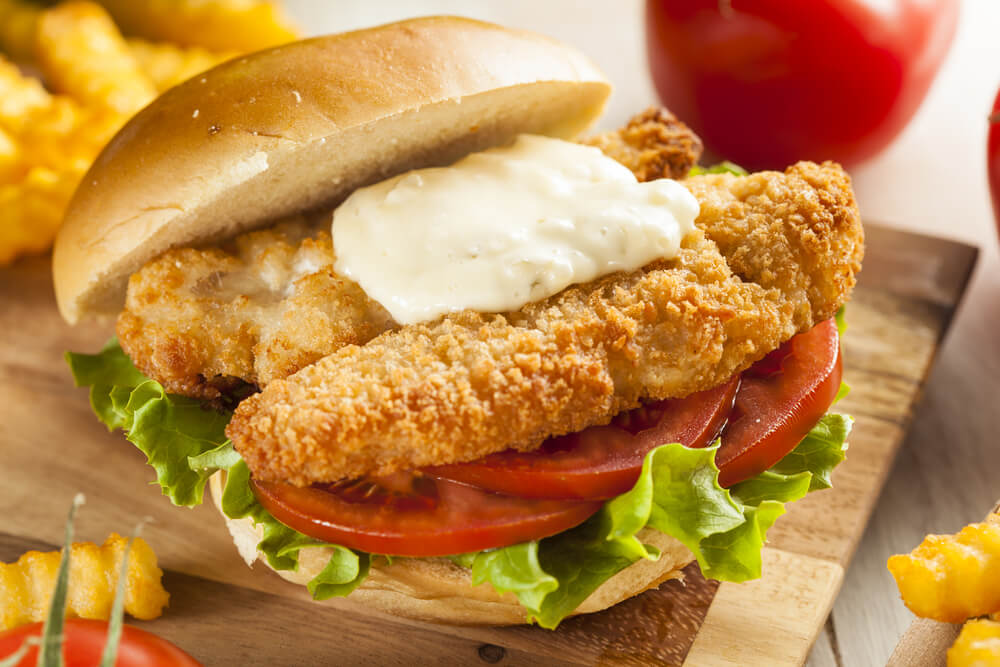 Fred 39 s fish sandwich the sporting chefthe sporting chef for Fred s fish fry