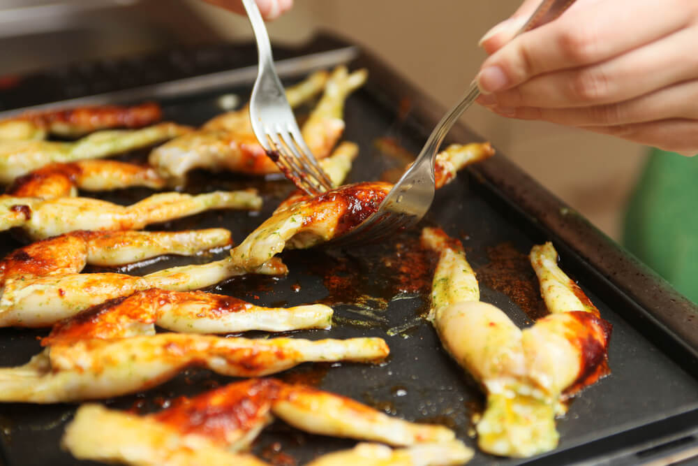 recipe: how to cook frog legs on the grill [16]