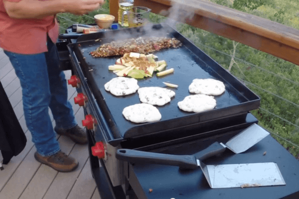 Camp Chef Flat Top Grill Breakfast