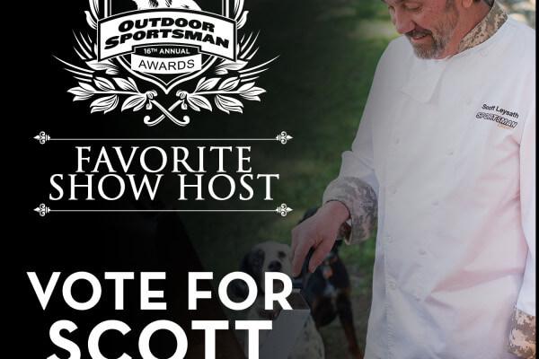 Vote for Scott!