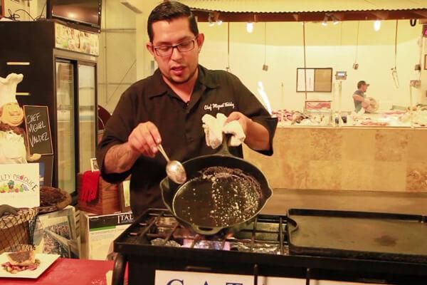 Miguel Valdez makes Brown Butter for Fish